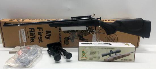 Crickett 22LR Bolt Action Single Shot w/ Crickett Scope & Firefield Bipod SN: 875923
