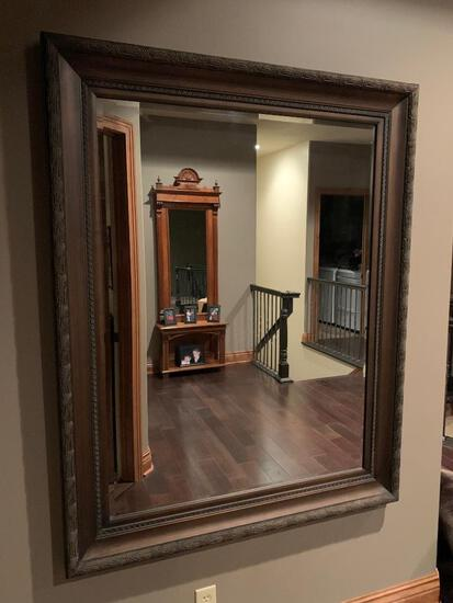 Framed Mirror, 46in x 58in, Very High Quality