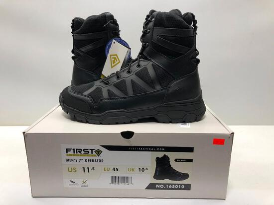 """First Tactical Mens 7"""" Operator Boot Mens 11.5 MSRP: $129.99"""