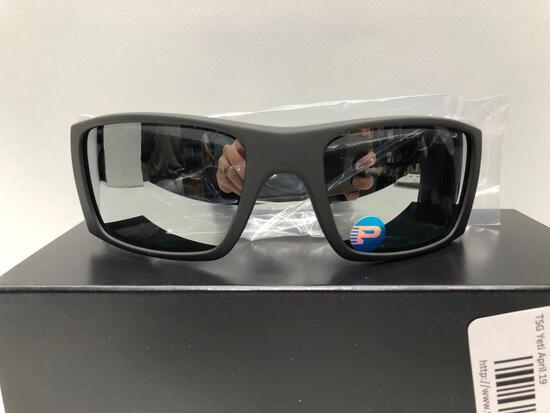 Oakley Polarized Pewter Black Iridium Sunglasses