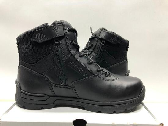 """First Tactical Mens 6"""" Side Zip Duty Boot Mens 8.5 MSRP: $99.99"""