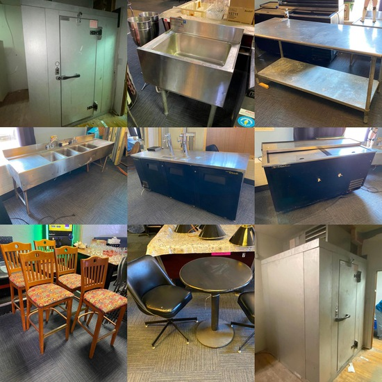 Overflow Lounge Liquidation Timed Auction Omaha