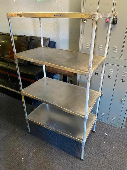 NSF Stationary Storage Dunnage Rack 64x36x20in