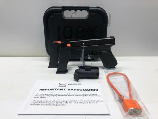 Glock G19 Gen 5 Blue Label GNS 9mm w/ Factory Case & 3 Magazines SN: BGWB692
