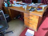 Wooden Desk - Note, we'll need to schedule a later pickup for this item, see below. Thanks