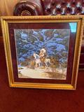 Bev Doolittle - Eagle Hart - 23in x 23in Framed Under Glass