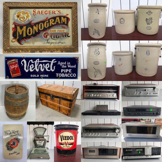 Country Americana Estate Auction Omaha 400+ Lots