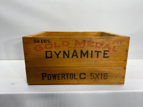 50lb Gold Medal Dynamite Crate