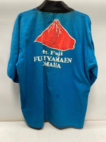 Hand Made Mt Fuji Inn Chef Uniform Handmade by Owners of Omaha's Mt Fuji Inn & Mai Tai Lounge