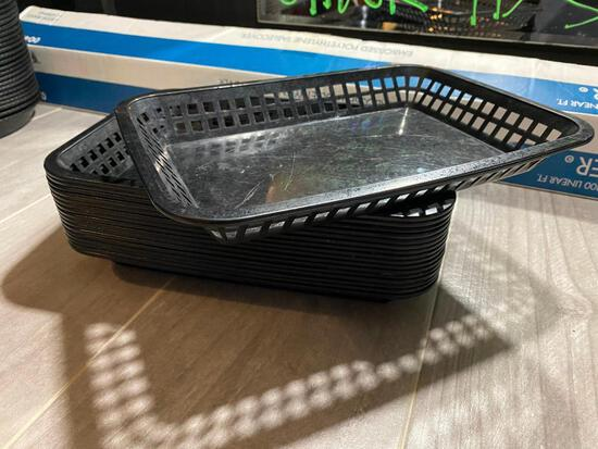 "Lot of 17, TableCraft Basket w/ Drainage Slots Model 1079 12""x9"""