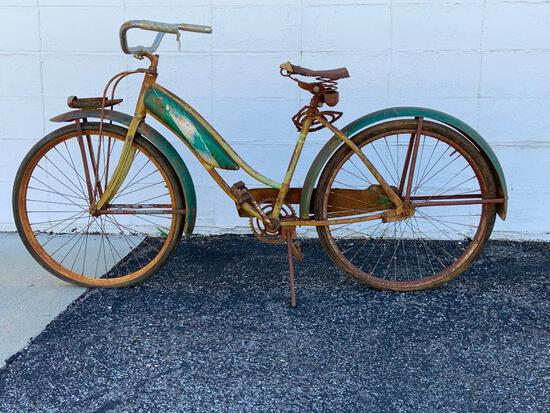 Vintage Aero Line Bicycle - Very Cool Body Style