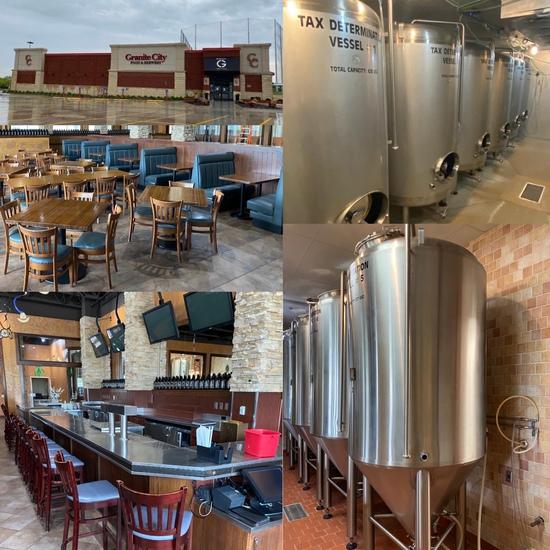 Granite City Food & Brewery Liquidation Omaha, NE