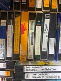 Large Collection of Nebraska Cornhusker Football Games on VHS