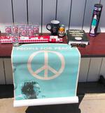People for Peace Poster, Lava Lamp, Baseball Quote Book, Sunglasses, Olympic Drink Glasses, Wrapping