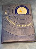1941 Creighton University Yearbook w/ Beautiful Embossed Bluejay and Writing