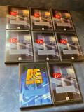 A&E Home DVD Biography Set, 8 Volumes, Edison, Dickens, Da Vinci, Newton, Others