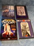 DVD's - (2) 911 Documentary DVDs, Civil War, History of NASA