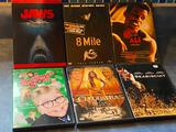 DVD's - 6 Great Movies, Jaws, Ali, Christmas Story, 8 Mile, Sea Biscuit, Cleopatra