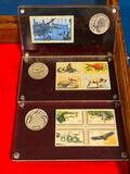 1971-1973 Postal Commemorative Society Coins and Stamps Collection