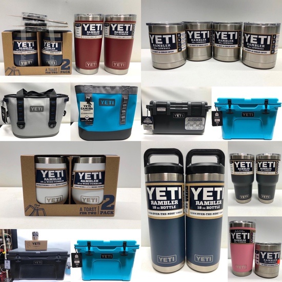 New YETI Drinkware and Coolers, Ending May 28th