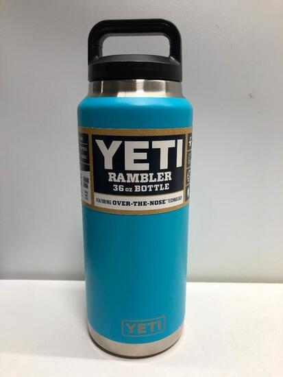 Yeti Rambler Reef Blue 36oz Bottle