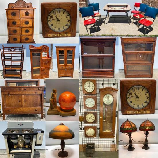 Early Clocks, Furniture & Antique Estate Auction