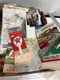 Box of a Variety of Texaco Advertising Please See Pictures