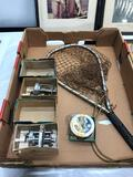 2 Ocean City Reels Model1800 Fish Net and Pictures