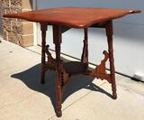 Oak Parlor Table Drop Leaf 27