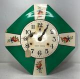 Miller Kitchen Wall Clock, Complete, Small Chip on Front by the 9, 9