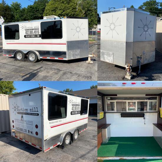 Custom Mobile Office Trailer, Omaha, Timed Auction