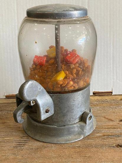Small Vintage Nut Vending Machine