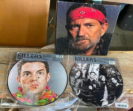 Willie Nelson Collector Record Set, Limited Edition Killers Albums