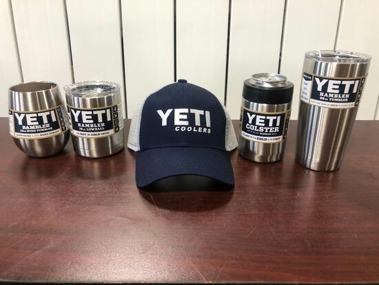 YETI 4 pc. Stainless Steel Variety Pack