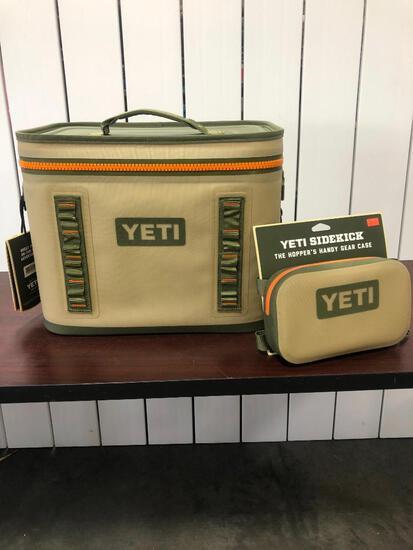 YETI Hopper Flip 18 - Field Tan/Blaze Orange