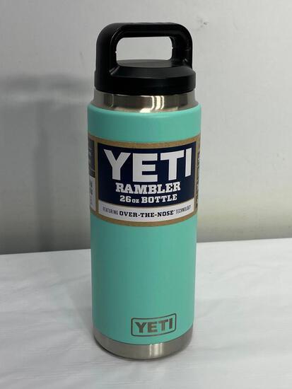 Yeti 26oz Rambler Bottle, Seafoam