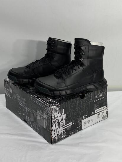 Oakley Black Light Assault Boots, NEW US Size 10 Mens - Black No. 12099-001