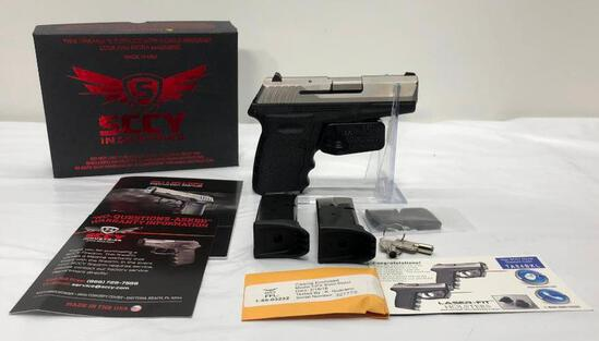 SCCY Model: CPX2 TT 9mm SN: 327772, with 2 Mags