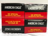 New Ammo: American Eagle 38 Special, 130 Grain Fullmetal Jacket Rounds, 200 Total Rounds