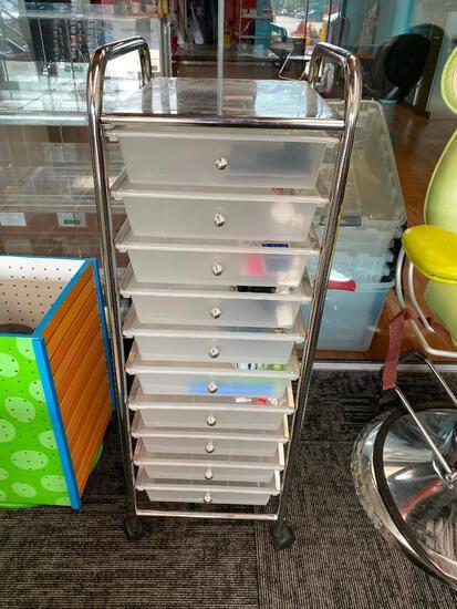 Rolling Organizing Cabinet