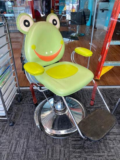Children Frog Themed Barber/Salon Chair