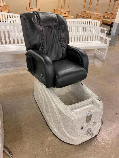 Pro Spa Pipeless Whirlpool Pedicure Spa Chair, C.I.A.R. Spa 61020 Pesaro Italy w/ Vibra Massage II