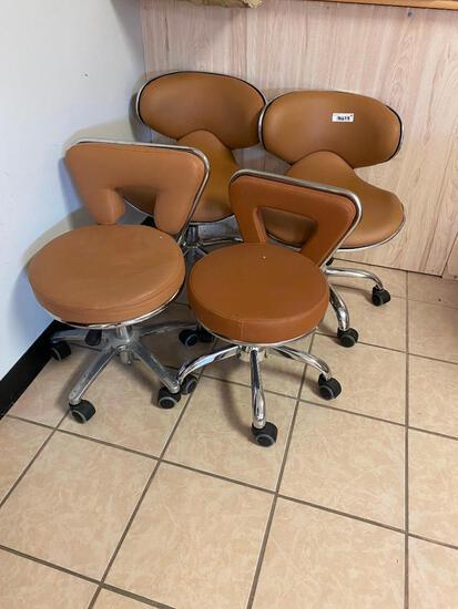4 Nail Salon Tech Chairs