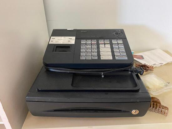 Casio PCR-272 Electronic Cash Register w/ Key