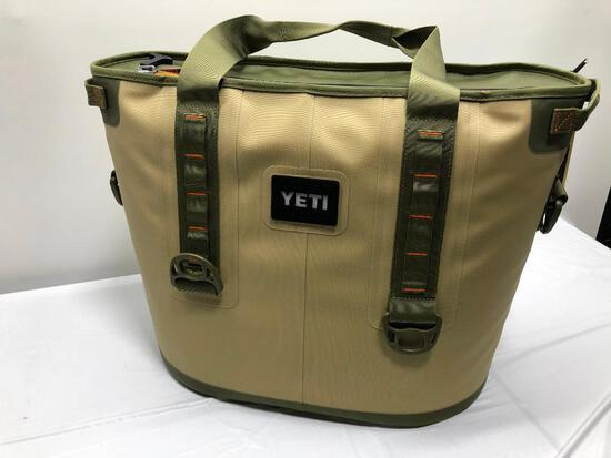 Yeti Hopper 30 Cooler Field Tan/ Blaze Orange