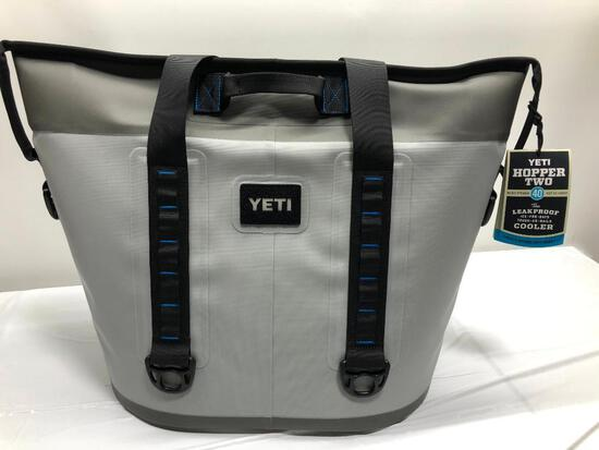 Yeti Hopper Two 40 Fog Gray / Tahoe Blue