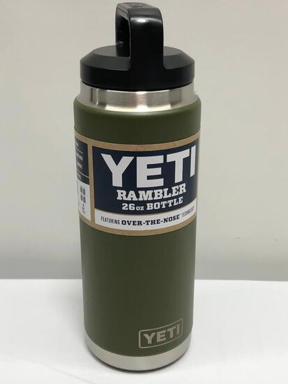 Discontinued Color - Olive Green 26oz Yeti Rambler Bottle