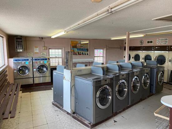 Laundromat Liquidation Online Auction Lake Manawa