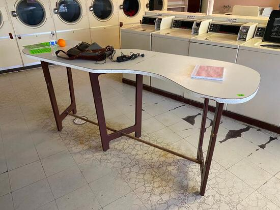 Bean Shaped Free Standing Table
