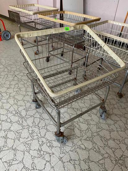 Rolling Laundry Basket